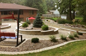 Residential Cobblestone Patio