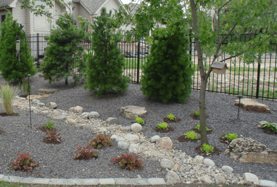 landscaped drainage solutions