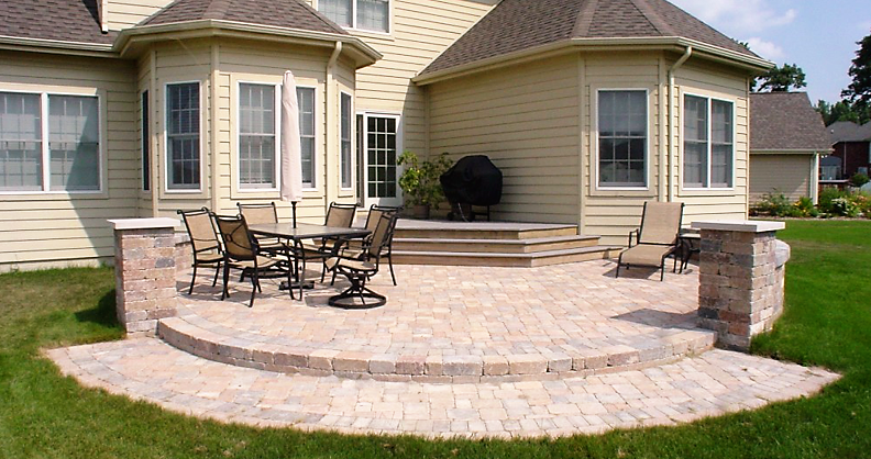 Patio Design Installation In Indiana Rlm Inc