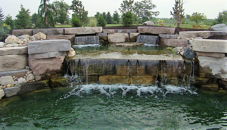 Outdoor Water Features - Ricci's